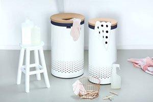 Brabantia 104404 Wäschebox 60 L weiß