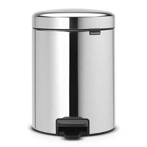 Brabantia Treteimer Kunststoff Stahl 5 Liter