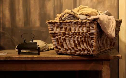 Wäschekorb Weide
